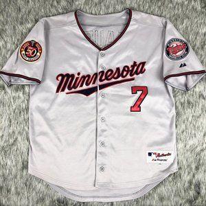Minnesota Twins Majestic 2010 50 Seasons Mauer #7